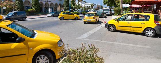 Как воспользоваться такси в Тунисе?